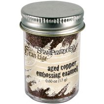 Stampendous Frantage Aged Embossing Enamel .6oz-Copper