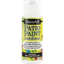 DecoArt Patio Paint 2oz-Cloud White