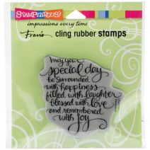 Stampendous Cling Stamp -Special Day