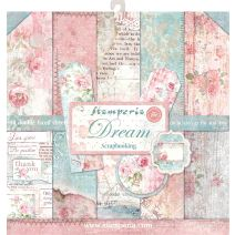 """Stamperia Double-Sided Paper Pad 12""""X12"""" 10/Pkg-Dream, 10 Designs/1 Each"""