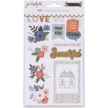 Jen Hadfield The Avenue Sticker Book 202/Pkg-