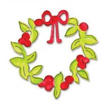 Sizzix Originals Die Christmas Collection Die Cutting Template Large Christmas Wreath