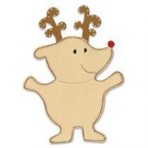 Sizzix Bigz Die Animal Dress Ups Reindeer