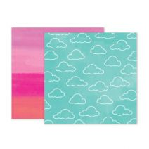 Summer Lights Collection - 12 X 12 Double Sided Paper - Paper 5