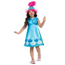 Disguise Troll Movie 2 Poppy Classic Child Costume, Small(4-6x)