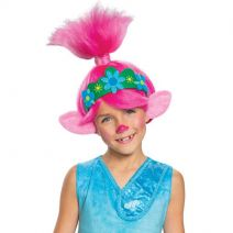 Disguise Troll Movie 2 Poppy Child Wig, Pink
