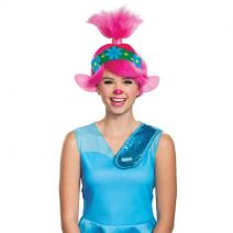 Disguise Trolls Movie 2 Poppy Adult Wig Costume Accessory, Pink
