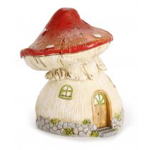 Yard And Garden Minis Mushroom House 4 X 4.75 Inches