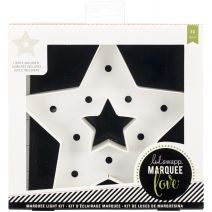 Marquee Love Christmas Paper Shape Star 8.5 X 8