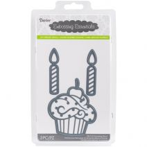 Embossing Essentials Dies Cupcake and Candles