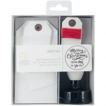 Seven Paper Felix Stamp Tags Twe Kit