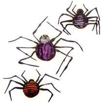Wall Decor Martha Stewart Crafts Illuminated Spider Decorations Chipboard Assorted Sizes