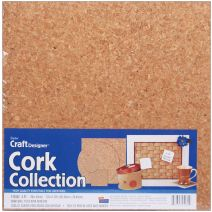 Cork Collection Tiles 12 InchesX12 Inches X 5mm