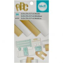 Paper Pad Metallic Foil Gold And Silver