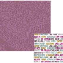 Urban Chic Collection 12 X 12 Double Sided Paper Wanderlust