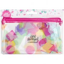 Jane Davenport Mixed Media Confettissue Die-Cuts Cute Shapes